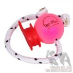 Dog Training Ball on Rope with MAXI Power-Clip Top-Matic