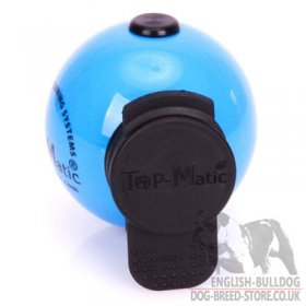 Top-Matic Magnet Trainingsball with Multi Power-Clip for Bulldog