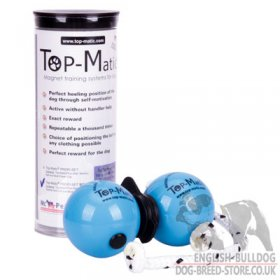 Top-Matic Profi-Set SOFT: 2 Magnet Balls and Clip for Bulldog Training