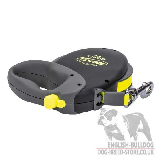 Flexi Retractable Tape Dog Leash Reflective for Medium English Bulldog - Click Image to Close