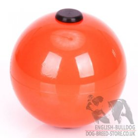 Top-Matic Technic Ball Orange for Bulldog Training