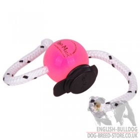 Small Dog Training Ball Top-Matic SUPER SOFT with Multi Power-Clip