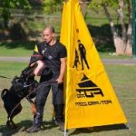 Professional IGP Training Blind for Dog Sports and Trials
