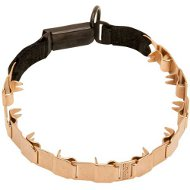 Curogan Collar with Click Lock Buckle for Bulldog, 19 Inches