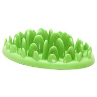 Dog Slow Feeder Green Interactive Plate for Bulldog Puppy Eating