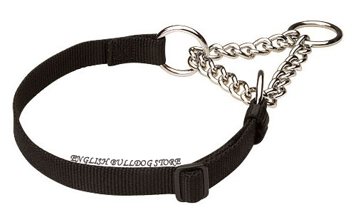 Nylon Half Choke Dog Collar