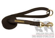 Nylon Dog Lead, New I-Grip Leash for English Bulldog Control