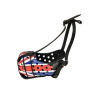 American Bulldog Muzzle UK Style Union Jack Patriotic Pattern