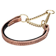 Best Training Collar for English Bulldog of Leather and Chain
