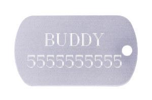 Bulldog ID Tag