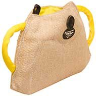 Bulldog Puppy Training Biting Pad of Jute, New Grip Builder