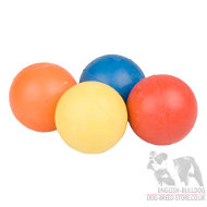 Rubber Balls for Bulldogs
