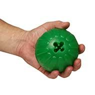 Large Dog Treat Ball Dispenser, Durable Toy for Adult Bulldogs