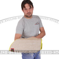 Dog Bite Sleeve Jute Intermediate for Young and Adult Bulldog