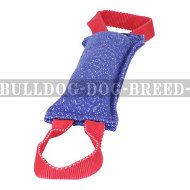 Dog Bite Tug Medium-Hard of French Linen with 2 Handles