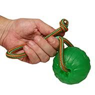 Dog Ball Chew Toy of Special Rubber on Rope for Bulldog