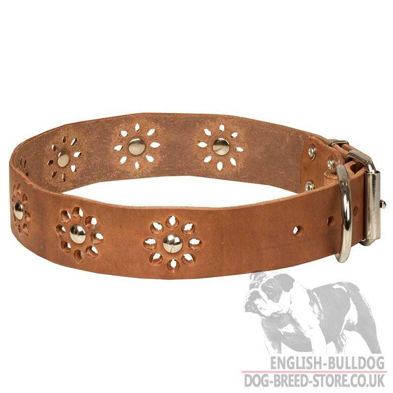 Flowered Dog Collars Uk