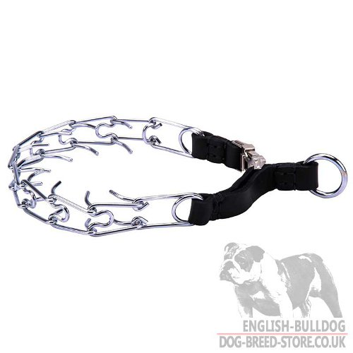 Quick Release Dog Pinch Collar For Small Dogs