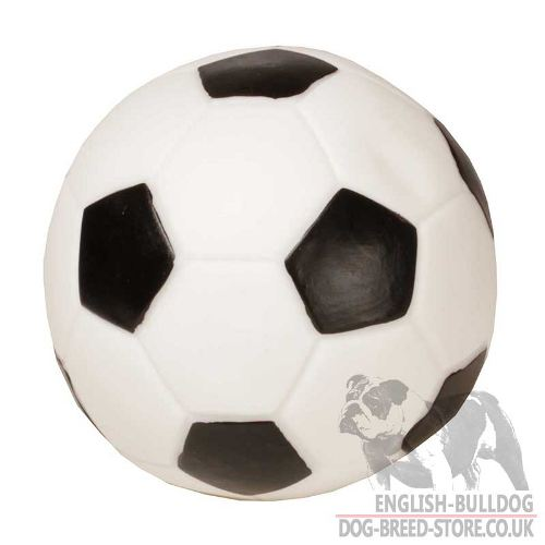 English Bulldog Toy - Sound Dog Ball