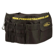 Dog Training Bag of Nylon with 5 Pockets and Snap Hook