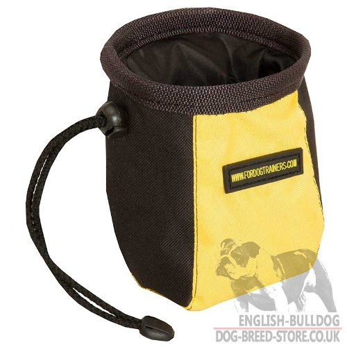 Dog Treat Pouch for Bulldog Training