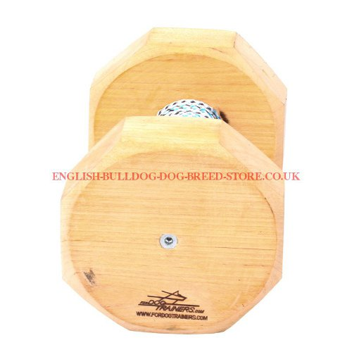 Wooden Dog Dumbbell 1 Kg