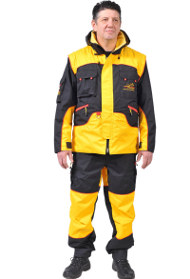 Dog Training Suit for Trials and Everyday Work, Yellow and Black