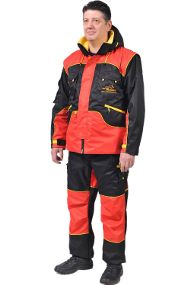 Dog Training Suit Ideal for All-Weather Use and Trials, Red