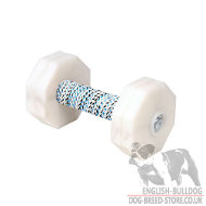 Dumbbell for Dogs Training with Removable Weight Plates, 1000 g