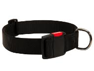 Adjustable Nylon Dog Collar with Quick Release Plastic Buckle