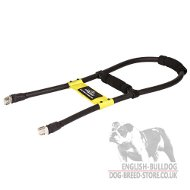 Guide Dog Harness Handle of Reinforced Plastic for Easy Control