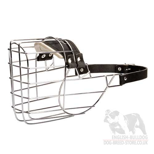 Bestseller! Wire Dog Muzzle for American Bulldog, Super Comfortable