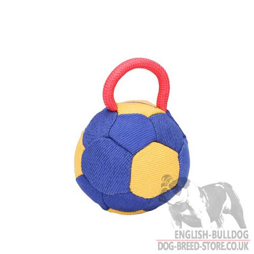 Stuffed Dog Bite Toy Bright Color for English Bulldog Training