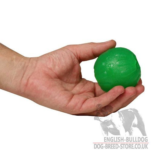Dog Chewing Ball for Bulldog Puppy, Treat Dispensing Toy