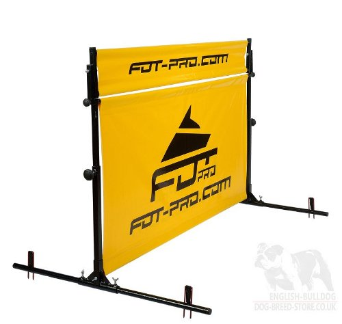 Schutzhund Hurdle Jump with Rotating Top for Training and Trials