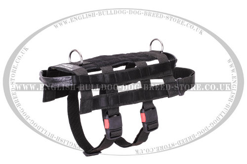 Service Dog Harness of Nylon, Smart Design for Professional Use