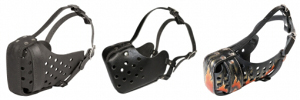 Leather Basket Dog Muzzles