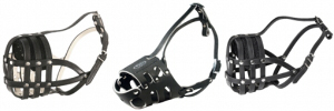 Mesh Leather Dog Muzzles