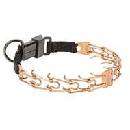 Hypoallergic Curogan Dog Behavior Training Collar for Bulldog