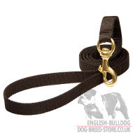 Tracking Dog Lead, Nylon Leash for English Bulldog Walking