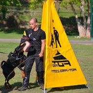 Professional Schutzhund Training Blind for Dog Sports and Trials