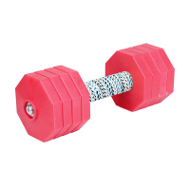 IGP Dumbbells of 2 kg, 8 Removable Red Octagons