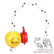 Top-Matic Fun Magnetball SOFT with Maxi Power-Clip for Small Bulldog
