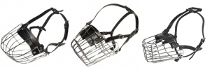Wire Basket Dog Muzzles